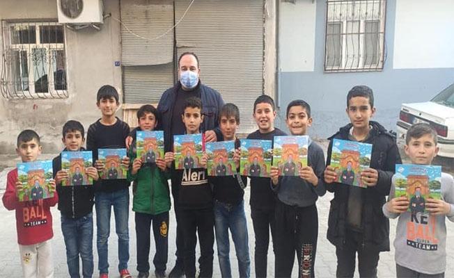 Viranşehir'de küçük kahramanlar iş başında