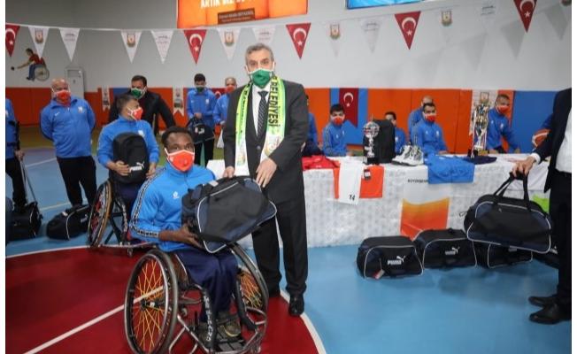 28 farklı branşta engellilere hizmet veriliyor