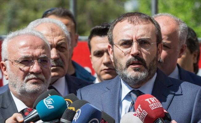 AK Parti'de Grup Başkan Vekilliği Seçimi Yapıldı