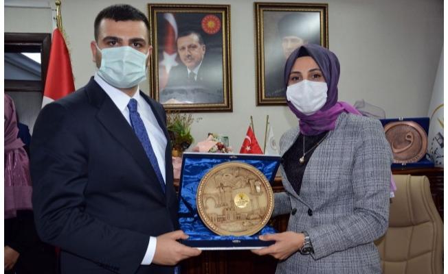 AK Partili İnan Başkan Çakmak'ı ziyaret etti