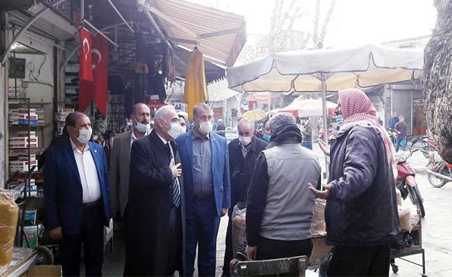 Aydınlık ve CHP Yönetimi Esnafı Ziyaret Etti