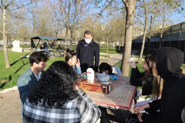 Baydilli mesire alanında vatandaşlarla buluştu