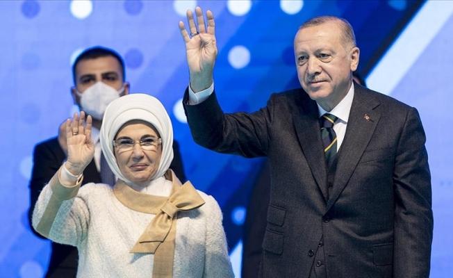 Cumhurbaşkanı Erdoğan AK Parti kongresinde konuştu