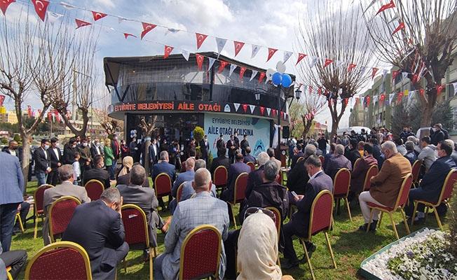 Eyyübiye'de aile otağı açıldı