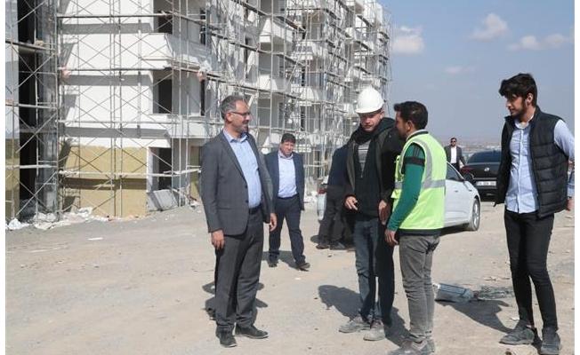 Eyyübiye'de kentsel dönüşüm çalışmaları sürüyor