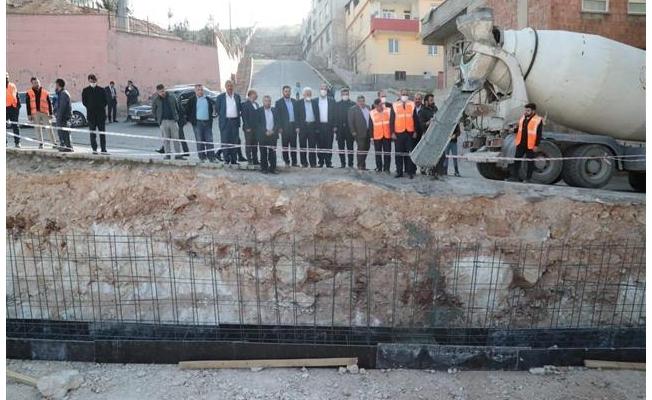 Eyyübiye'de Sosyal Donatı Alanı Temeli Atıldı