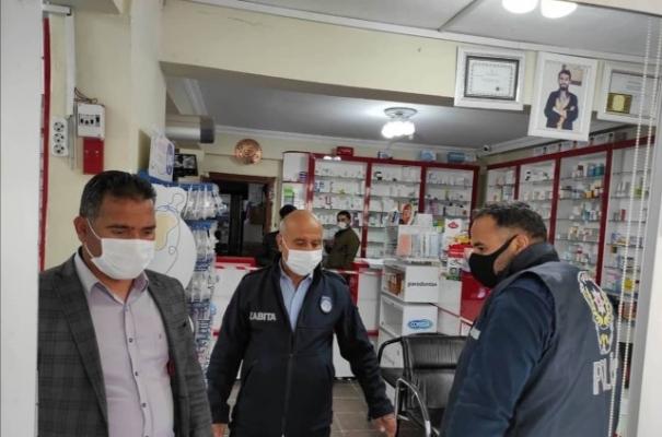 Harran'da Covid-19 denetimleri sürüyor