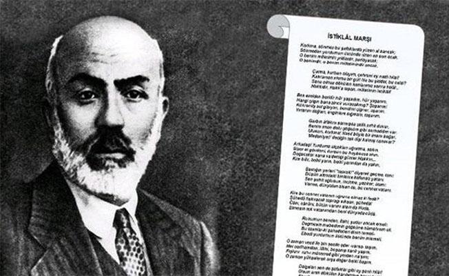 'Mehmet Akif ve İstiklal Marşı Yılı' genelgesi yayınlandı