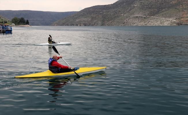 """""""Sahil kenti"""" Halfeti'de su sporları yeniden canlanıyor"""