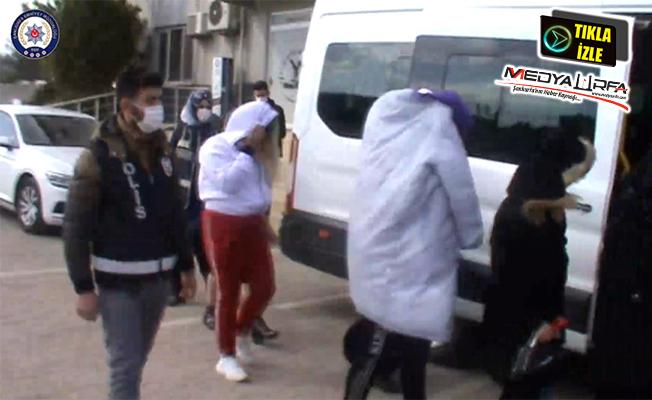 Şanlıurfa'da fuhuş operasyonu: 18 gözaltı