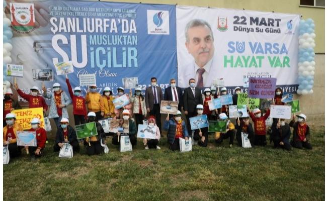 Şanlıurfa'da 22 Mart Su Günü Kutlandı