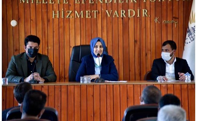 Siverek'te Mart ayı meclis toplantısı tamamlandı