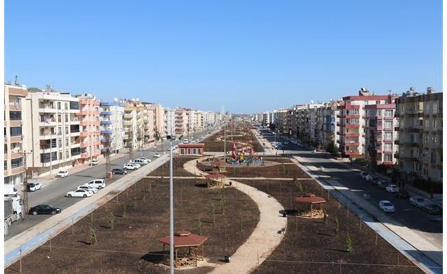 Viranşehir'de 71 bin metrekarelik park yapılıyor