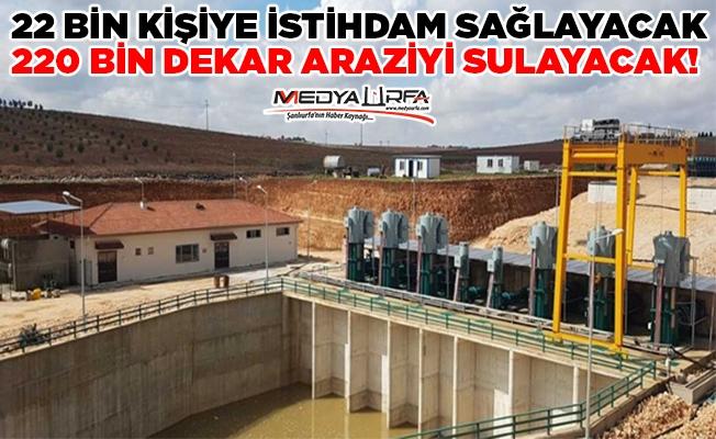 Viranşehir Pompaj Sulamasında Çalışmalar Tam Hız Sürüyor