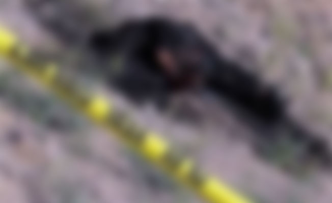 Yol kenarında bir kısmı yanmış kadın cesedi bulundu