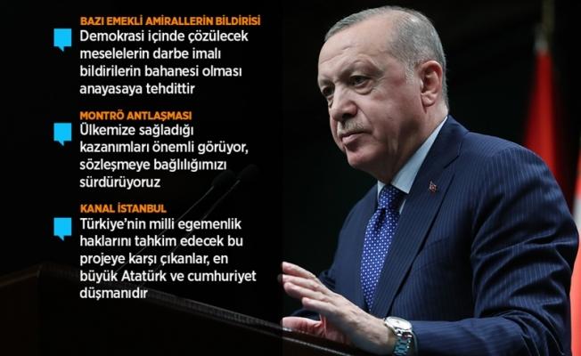 Erdoğan: Kesinlikle art niyetli bir girişimdir