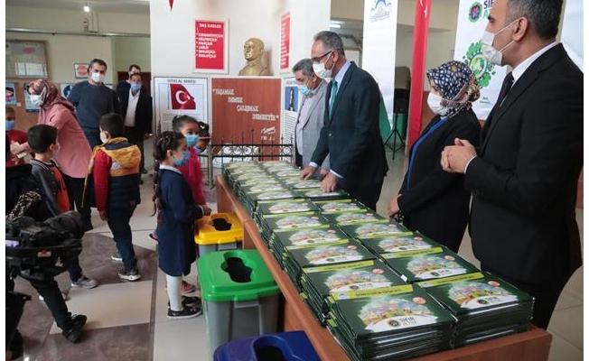 Eyyübiye'de 15 bin öğrenciye eğitim seti