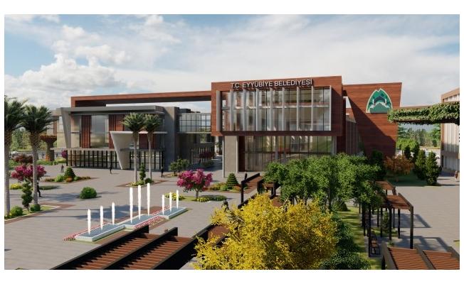 Eyyübiye'ye yeni kamu kampüsü ve hizmet binası