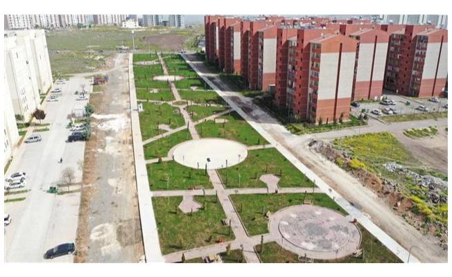 Karaköprü'de yeşil alanlar artıyor