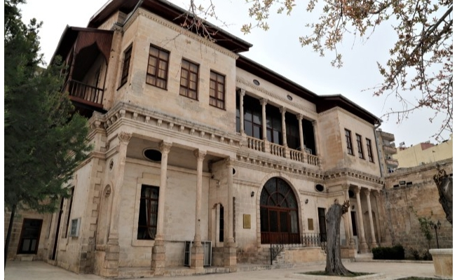 Urfa'daki tarihi konak Milli Mücadele'nin izlerini taşıyor