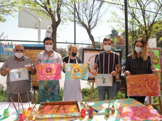 Rehberlik Sokağı El Sanatlarıyla Renklendi