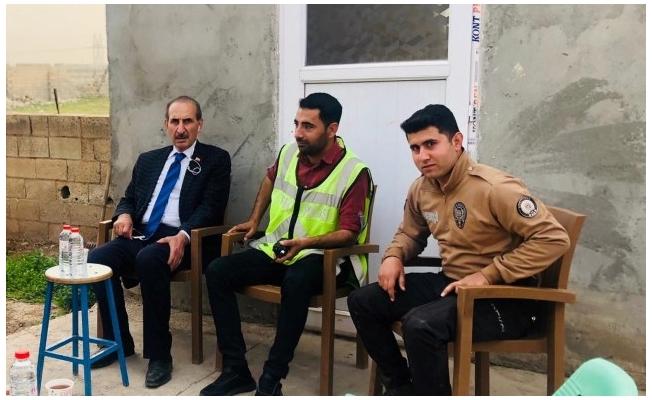 Yalçınkaya'dan polislere anlamlı ziyaret