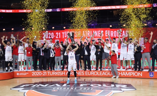 Avrupa basketbolunun en büyüğü Anadolu Efes