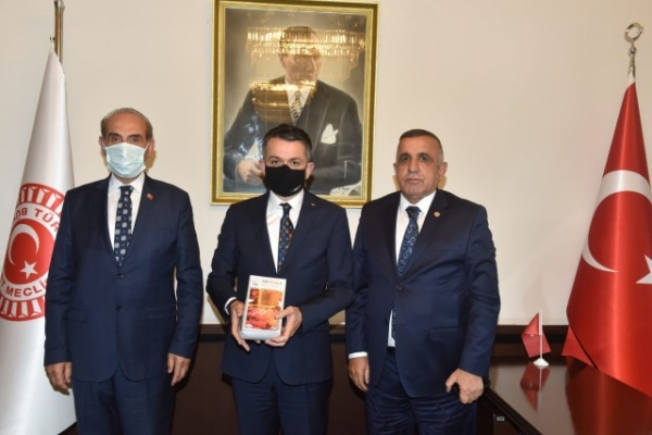 Başkan Yalçınkaya Tarım Bakanı İle Görüştü