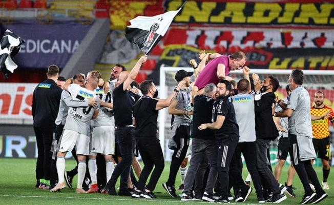 Beşiktaş 16. Kez Şampiyon