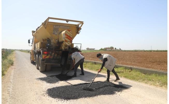 Eyyübiye Kırsalında Yol Yapım Atağı