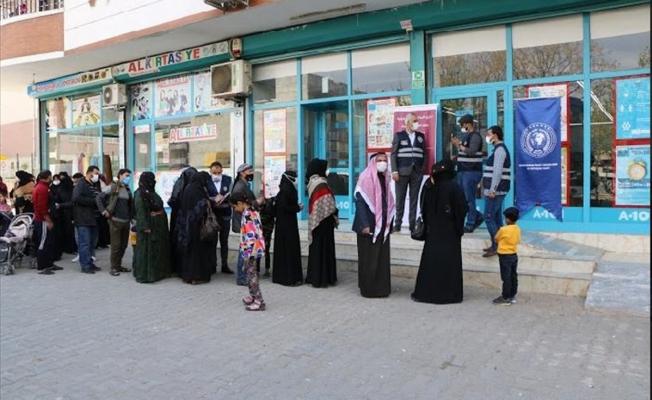 Şanlıurfa'da ihtiyaç sahiplerine ramazan yardımı yapıldı