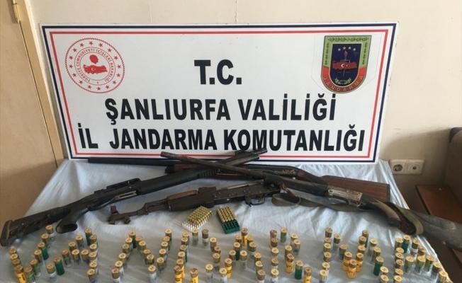 Şanlıurfa'da silah kaçakçılığına 8 tutuklama