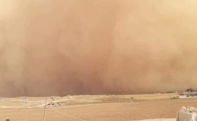 Şanlıurfa'da şiddetli kum fırtınası