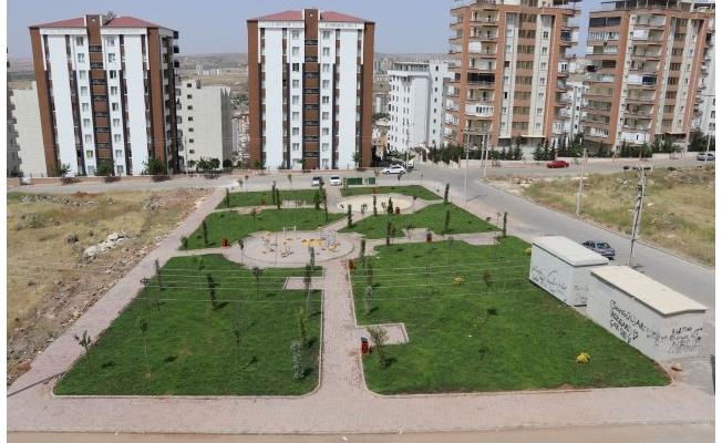 Yemyeşil Karaköprü için yeni parklar yapılıyor