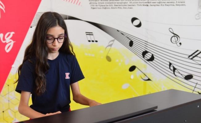 11 yaşındaki Defne, uluslararası yarışmada birinci oldu