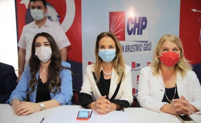 """CHP Kadın Kollarının """"YaşamHak"""" otobüsü Şanlıurfa'da"""