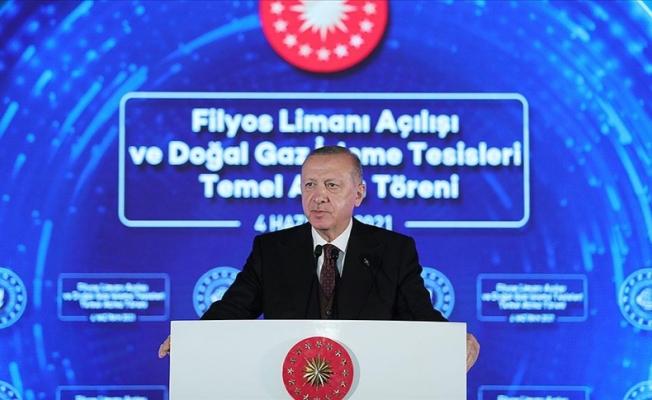 Erdoğan müjdeyi verdi: Türkiye yeni doğalgaz keşfi yaptı