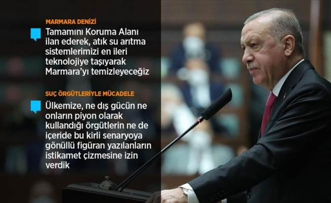 Erdoğan: Suç örgütlerine bel bağladılar