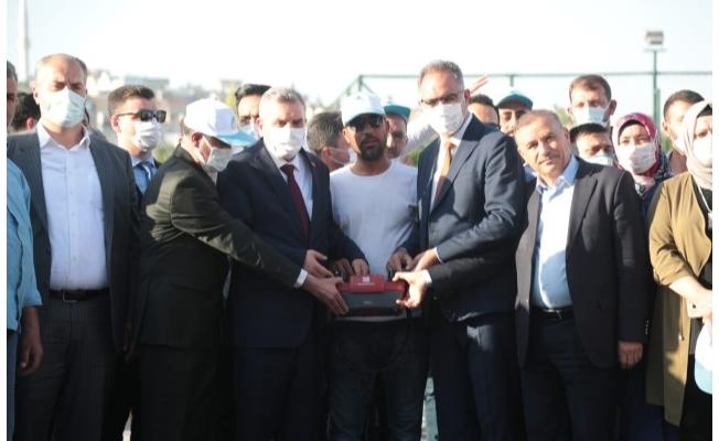 Eyyübiye'de Zabıta Karakolu Temeli Atıldı