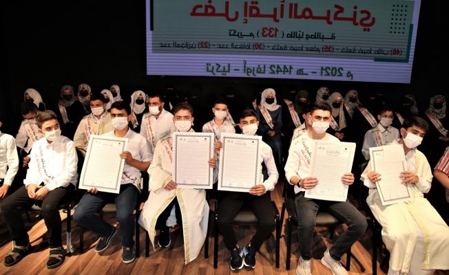 Hafızlık eğitimi gören 133 çocuk ve genç icazet aldı