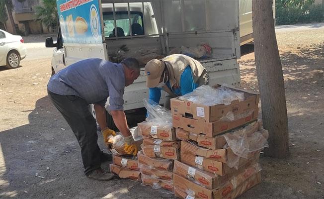 Haliliye'de yüzlerce kilo bozuk et yakalandı