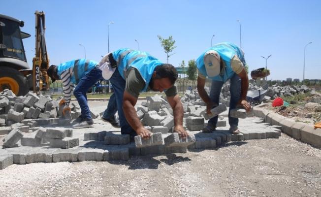Haliliye'den 4 mahallede üst yapı çalışması