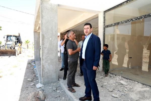 Harran'da Vizyoner Projeler Özyavuz ile Hayata Geçiyor