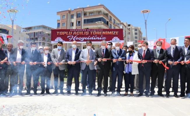 Karaköprü'de toplu açılış töreni