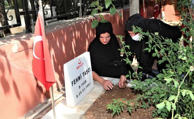 Rizeli şehidin Urfa'daki kabrine 60 yıl sonra kavuştular