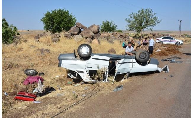 Şanlıurfa'da otomobil devrildi: 1 ölü, 3 yaralı