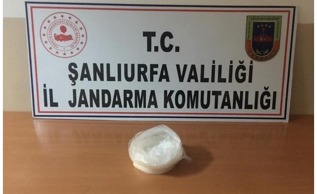 Şanlıurfa'da uyuşturucu operasyonu: 1 tutuklama