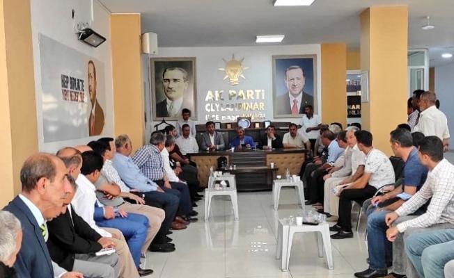 AK Parti Ceylanpınar'da Temayül Yoklaması Yapıldı