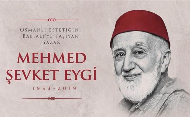 Babıali'nin hassas ve cesur kalemi :Mehmed Şevket Eygi