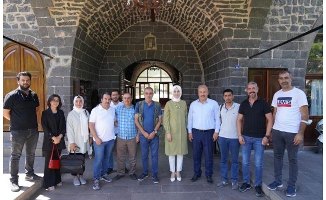 Başkan Çakmak Gazetecilerle Bir Araya Geldi